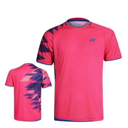 尤尼克斯YONEX 羽毛球服 110079BCR 210079BCR 男款 女款 紫粉色