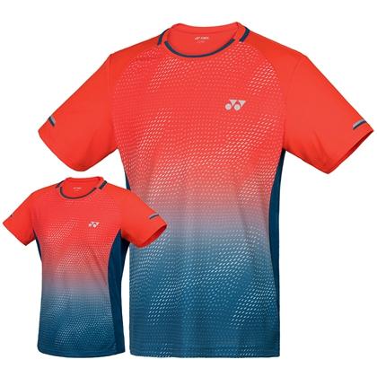 尤尼克斯YONEX 羽毛球服 110129BCR 210129BCR 男款 女款 火红色