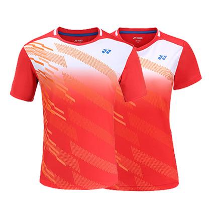 尤尼克斯YONEX短袖T恤 110089/210089BCR 日落红(BREEZE LIGHT吸湿速干面料)