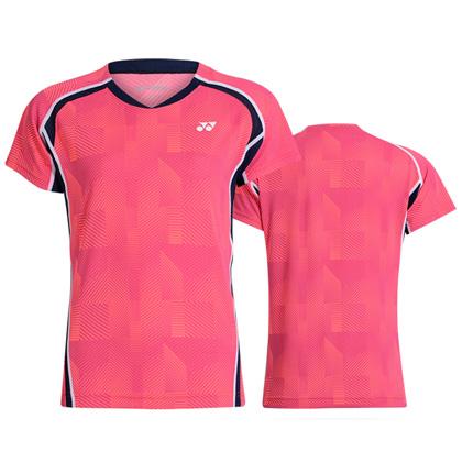 尤尼克斯YONEX短袖T恤 110109BCR/210109BCR 闪粉(WATER MAGIC吸湿速干面料)