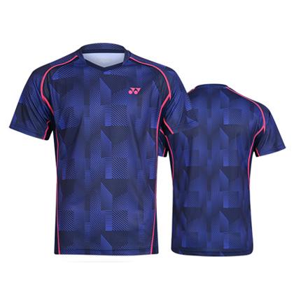 尤尼克斯YONEX短袖T恤 110109BCR/210109BCR 深藏青(WATER MAGIC吸湿速干面料)