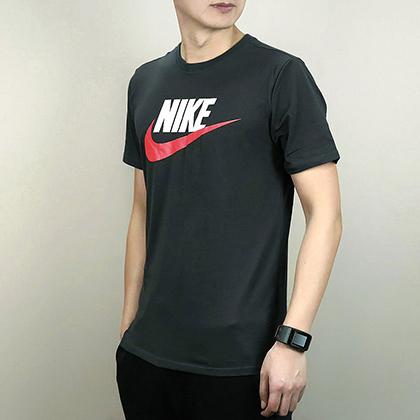 耐克NIKE短袖T恤 696708-060 男款(简洁时尚LOGO T恤)