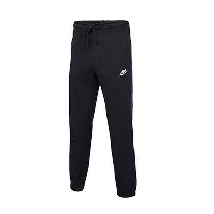 耐克NIKE长裤 806677-010男款黑色针织长裤(简约舒适,束口设计)