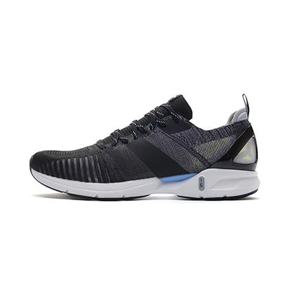 李宁跑步鞋 超轻16代 ARBP009-6 男 标准黑/新极光蓝(轻透、轻爽、轻盈)