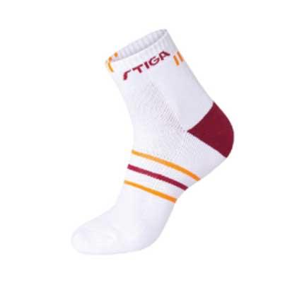 斯帝卡 CP-452141 乒乓球中筒袜 红色 柔软防滑,穿着感舒适