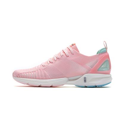李宁跑步鞋 超轻16代 ARBP012-3 女 盐粉色/岛屿蓝(轻透、轻爽、轻盈)