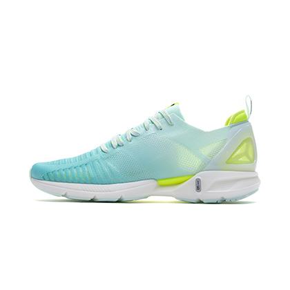 李寧跑步鞋 超輕16代 ARBP012-1 女 熒光玉綠/熒光亮綠(輕透、輕爽、輕盈)