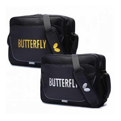 蝴蝶 长型方包乒乓球大包 BTY-315 简洁大气 0209黑白色/0211黑黄色 BUTTERFLY 新款乒乓球包上市!