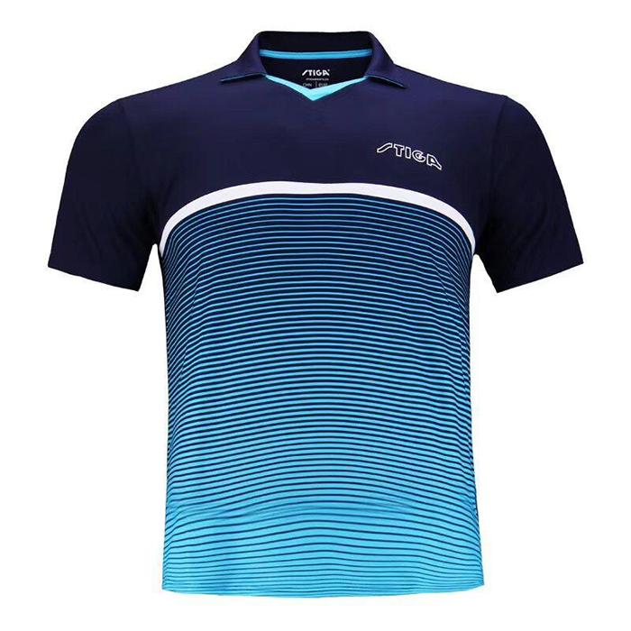 斯帝卡STIGA CA-43521 乒乓球服 蓝色