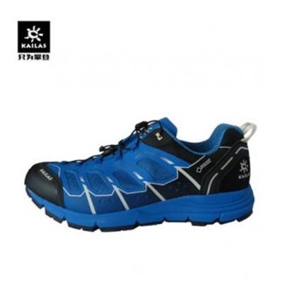 KAILAS凯乐石 男款户外越野跑鞋飞翼2.0超轻透气三明治网布设计 夜空蓝