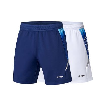 李宁运动短裤 AAPP059 男款苏迪曼杯比赛短裤