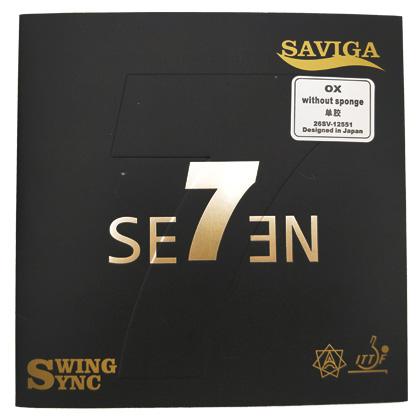 赛维卡7号正生胶单胶皮SAVIGA SE7EN 超级摇摆 正生胶单胶皮