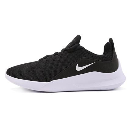 耐克NIKE跑步鞋 VIALE男款透气运动鞋 AA2181-002黑/白