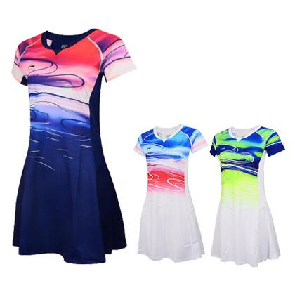李宁比赛连衣裙 ASKP068 女款苏迪曼杯比赛服 国家队专用肌理感面料,壮锦设计大美广西