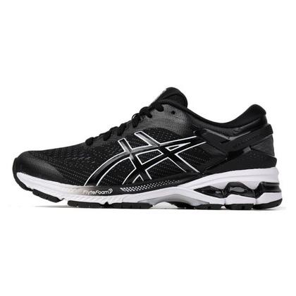 亞瑟士ASICS跑步鞋 KAYANO 26(K26)男跑步鞋 1011A541-001黑色 新一代鞋皇跑鞋