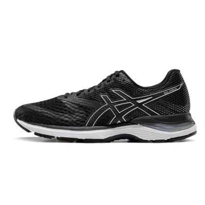 亚瑟士Asics 男款跑步鞋 GEL-PULSE 10 透气舒适缓冲跑鞋 黑色