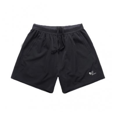 蝴蝶Butterfly BWS-328-02 黑色乒乓短裤 男女通用