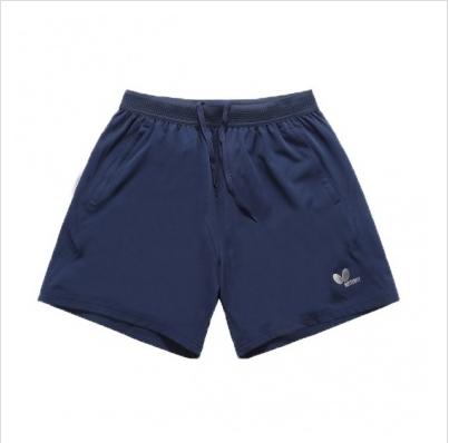 蝴蝶Butterfly BWS-328-05 蓝色乒乓短裤 男女通用
