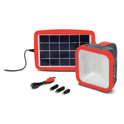 d.light S500 高效集成太阳能多功能照明灯可为手机充电四档调光防水防晒dlight户外露营led灯