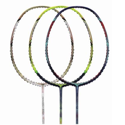 李宁羽毛球拍 风动9000C/风动9000D/风动9000羽毛球拍(苏迪曼杯冠军战拍)