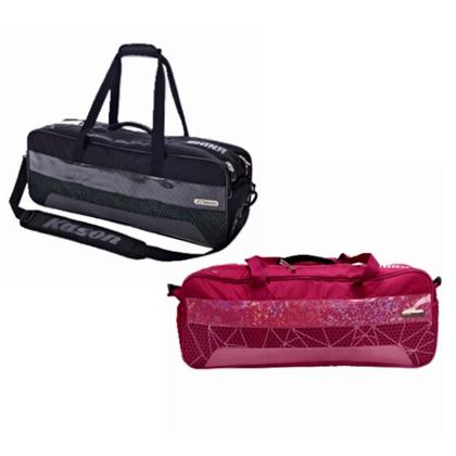 凯胜羽毛球包 FBJL008 粉白/黑 六支装斜挎球包旅行包休闲包 简约时尚 轻便设计