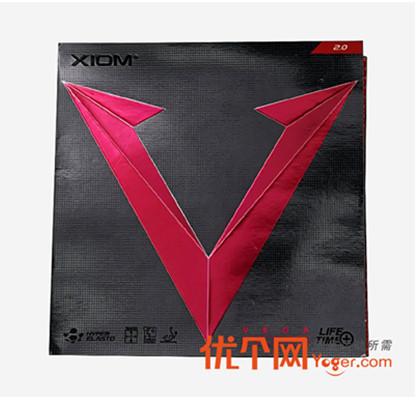 骄猛XIOM 79-037 唯佳正胶 VEGA Spo,旋转 控制更完美,适合近台进攻和阻击