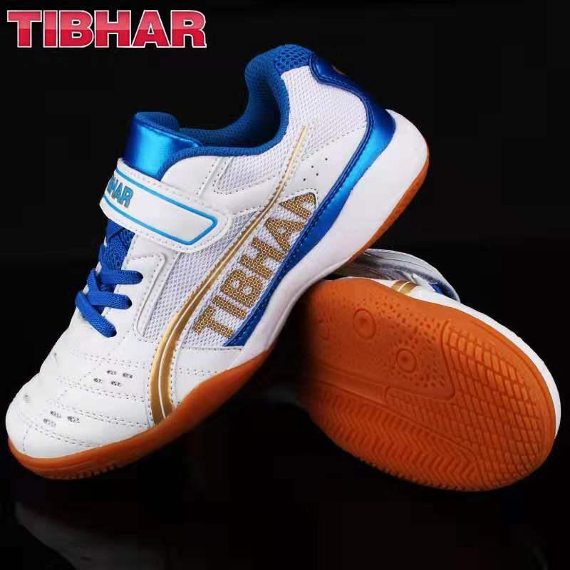 TIBHAR挺拔 飞翔2020儿童乒乓球鞋 白蓝色