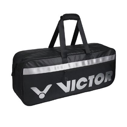 胜利VICTOR 羽毛球包 BR3609-CS 黑色 十二支装矩形长型拍包