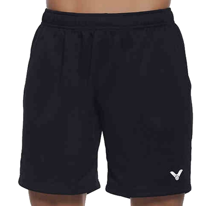 VICTOR胜利R-3096C中性款运动短裤(纯黑经典重现,百搭之王)