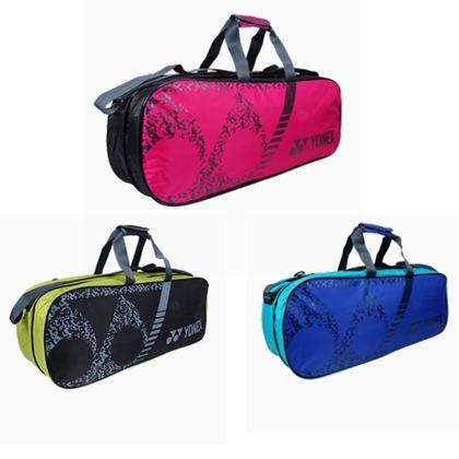 尤尼克斯YONEX羽毛球包 BAG3926BCR 六支装矩形包(可提,也可以背)