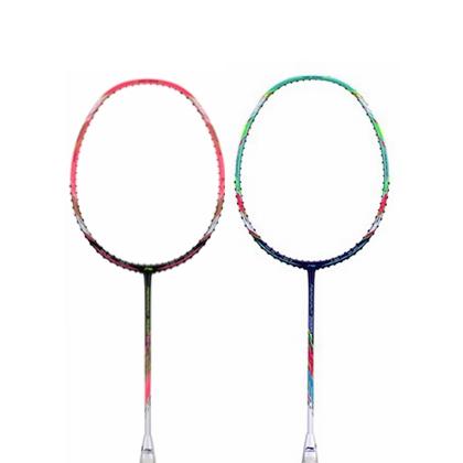 李宁羽毛球拍 风动7000I 蓝紫色/粉色 黄雅琼 吴柳莹专用款 轻便灵活