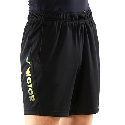 胜利VICTOR 运动短裤 R-80203C 纯黑经典重现 百搭之王