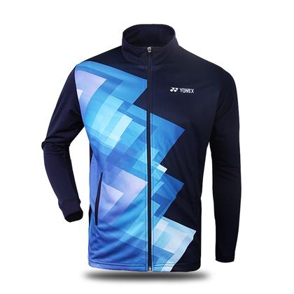 尤尼克斯YONEX运动上衣 运动外套 150067BCR 深蓝 微弹 柔软