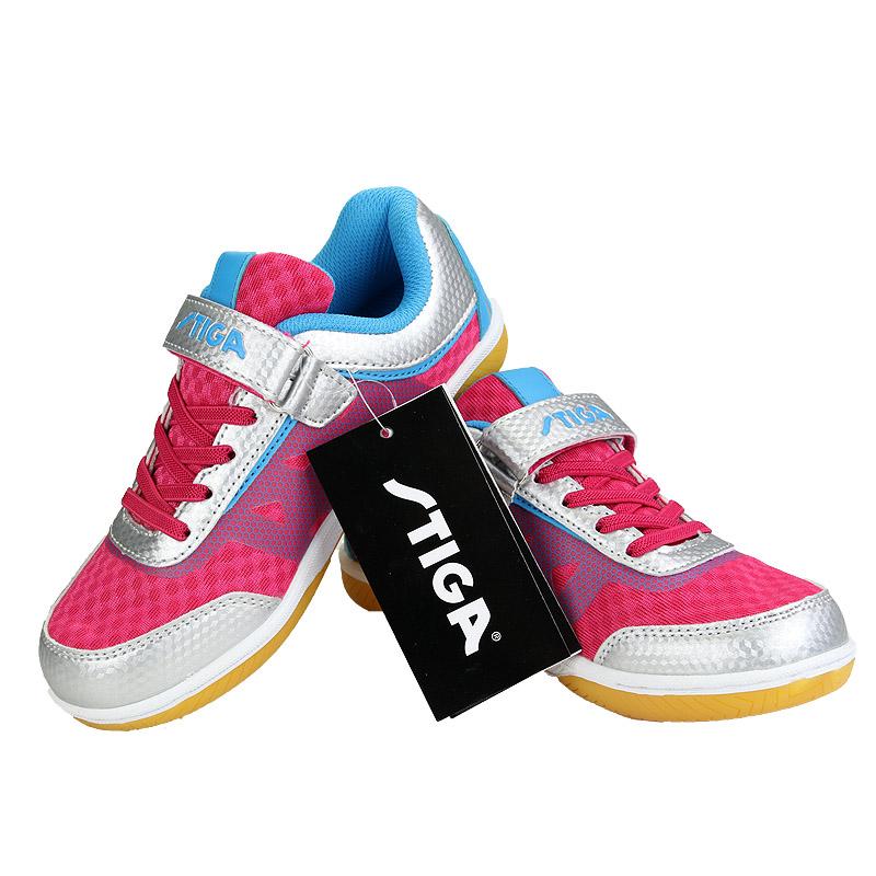 斯帝卡Stiga CS-4341 儿童乒乓球鞋运动童鞋  红色
