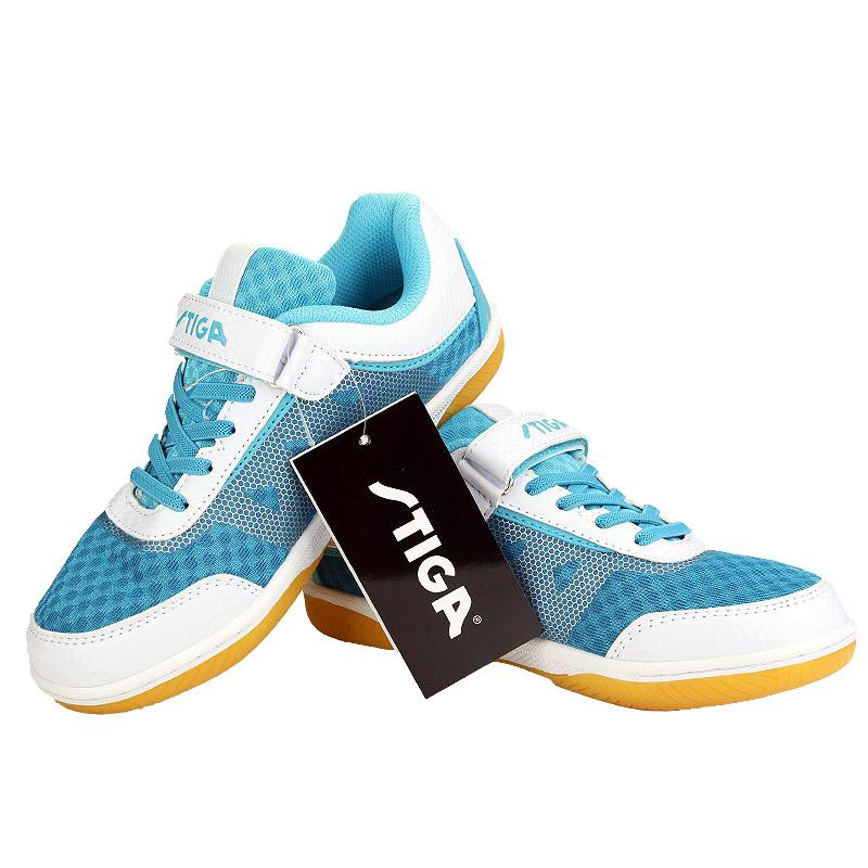 斯帝卡Stiga CS-4351 兒童乒乓球鞋運動童鞋 藍色