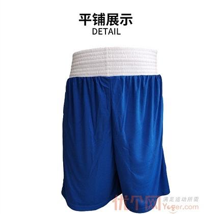 阿迪达斯Adidas MMA/BOXING拳击搏击系列运动短裤ADIBTS02_ST 蓝色款