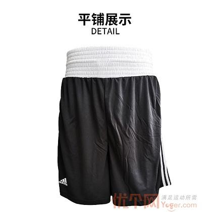 阿迪達斯Adidas  MMA/BOXING格斗拳擊系列運動短褲 ADIBTS02_ST 黑
