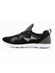 海尔斯HEALTH跑步鞋 7666S 黑色(一体织鞋舌,鞋底耐磨回弹设计)