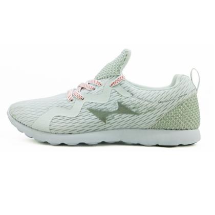 海尔斯HEALTH跑步鞋 7666S 白色(一体织鞋舌,鞋底耐磨回弹设计)
