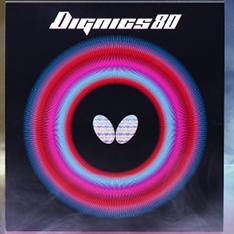 Butterfly蝴蝶D80 反胶套胶06050 (Butterfly DIGNICS 80)高旋转高速度完美融合 中前台综合优越的反胶套胶,T80升级款