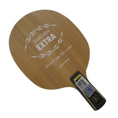 亚萨卡YASAKA YE乒乓球拍底板(YASAKA Extra) ,碧蓝手柄的碧玉刀,王皓直拍横打开端