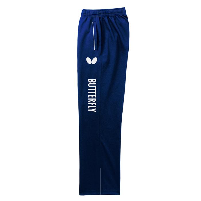 蝴蝶Butterfly BWS-612-05 新款乒乓球运动长裤 蓝色