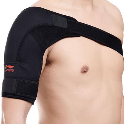 李宁 加压护肩 AQAH174-2 专业薄款弹力加压护肩 男女款均码左肩(右肩)