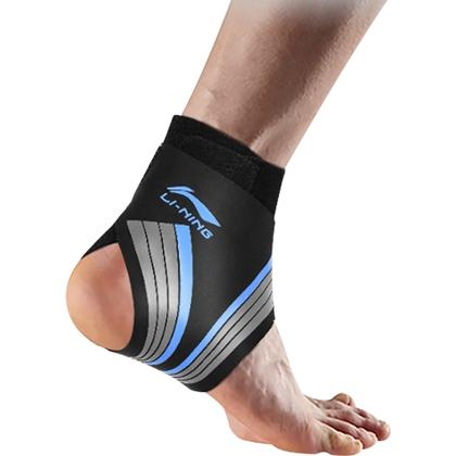 李宁 护踝 LQAL157 加压透气运动护踝 关节护具 男女款 蓝色均码(33CM*27.5CM)