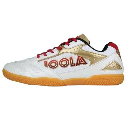 优拉JOOLA 飞狐红白色专业乒乓球鞋 男女同款 高性价比