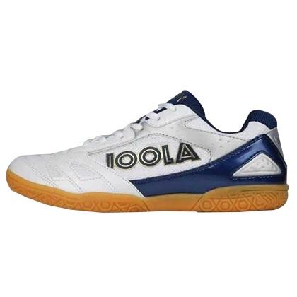 优拉JOOLA 飞狐白蓝色专业乒乓球鞋 男女同款 高性价比