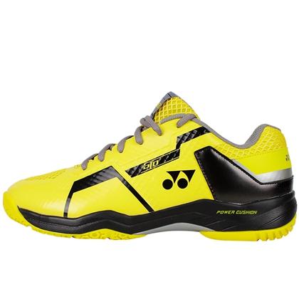 尤尼克斯YONEX羽毛球鞋 SHB-610CR 黑黃中性款專業羽毛球鞋(新一代高顏值,動力墊戰靴)