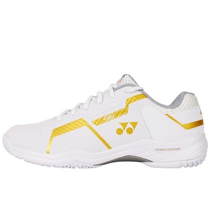 尤尼克斯YONEX羽毛球鞋 SHB-610CR 白金中性款专业羽毛球鞋(新一代高颜值,动力垫战靴)