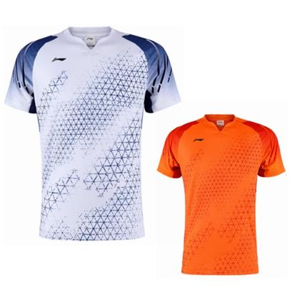李寧比賽上衣 AAYQ013 男款 2020全英大賽服
