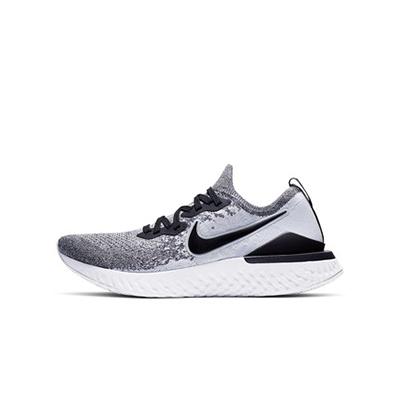Nike耐克NIKE EPIC REACT FLYKNIT2男子跑步鞋夏季透气BQ8928-101白/黑/白金